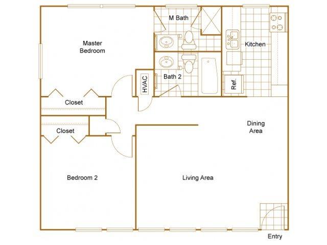 Manhattan Floor Plan 4