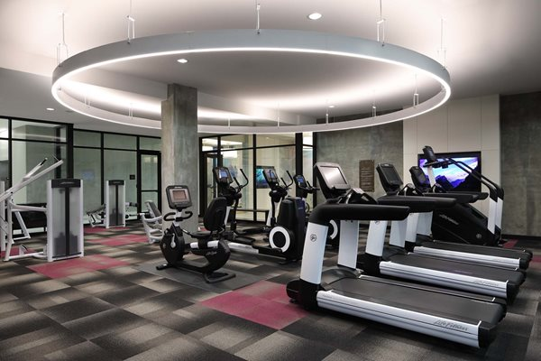G12 Apartments_Los Angeles CA_Community Fitness Center