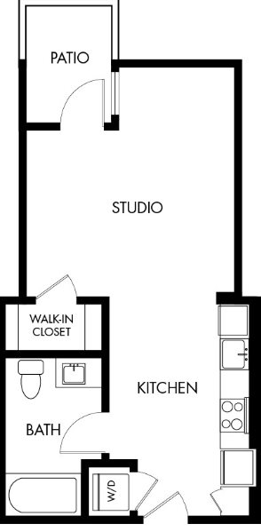 G12 Apartments_Los Angeles CA_Floor Plans_Studio_13