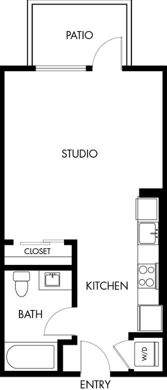 G12 Apartments_Los Angeles CA_Floor Plans_Studio_14
