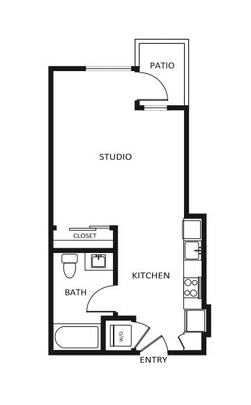 G12 Apartments_Los Angeles CA_Floor Plans_Studio_16