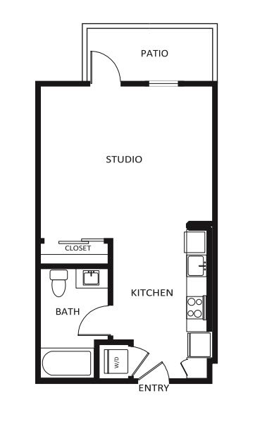 G12 Apartments_Los Angeles CA_Floor Plans_Studio_17