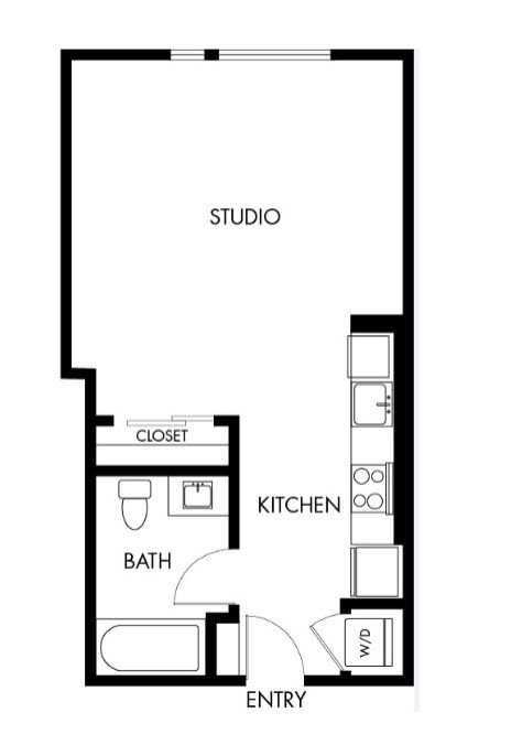 G12 Apartments_Los Angeles CA_Floor Plans_Studio_19