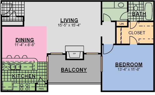 A2F Floor Plan 4