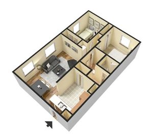 Two Bedrom
