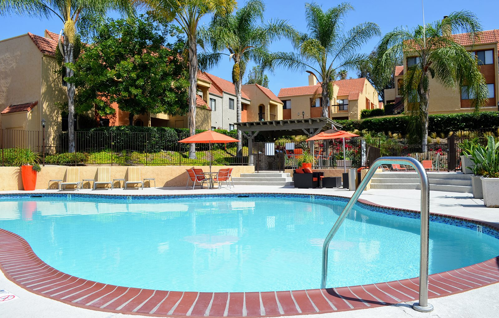 Sparkling Swimming Pool at Canyon Villa Apartments, 601 Telegraph Canyon Road, Chula Vista