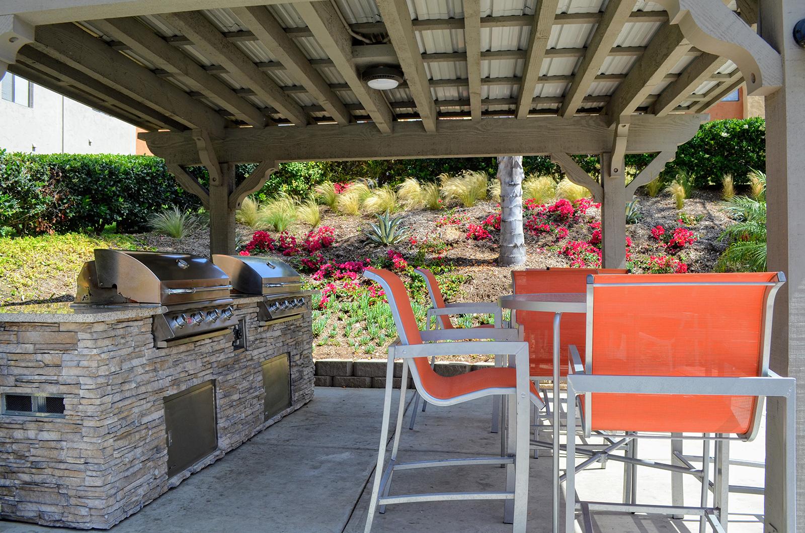 Outdoor Gazebo at Canyon Villa Apartments, 91910, CA