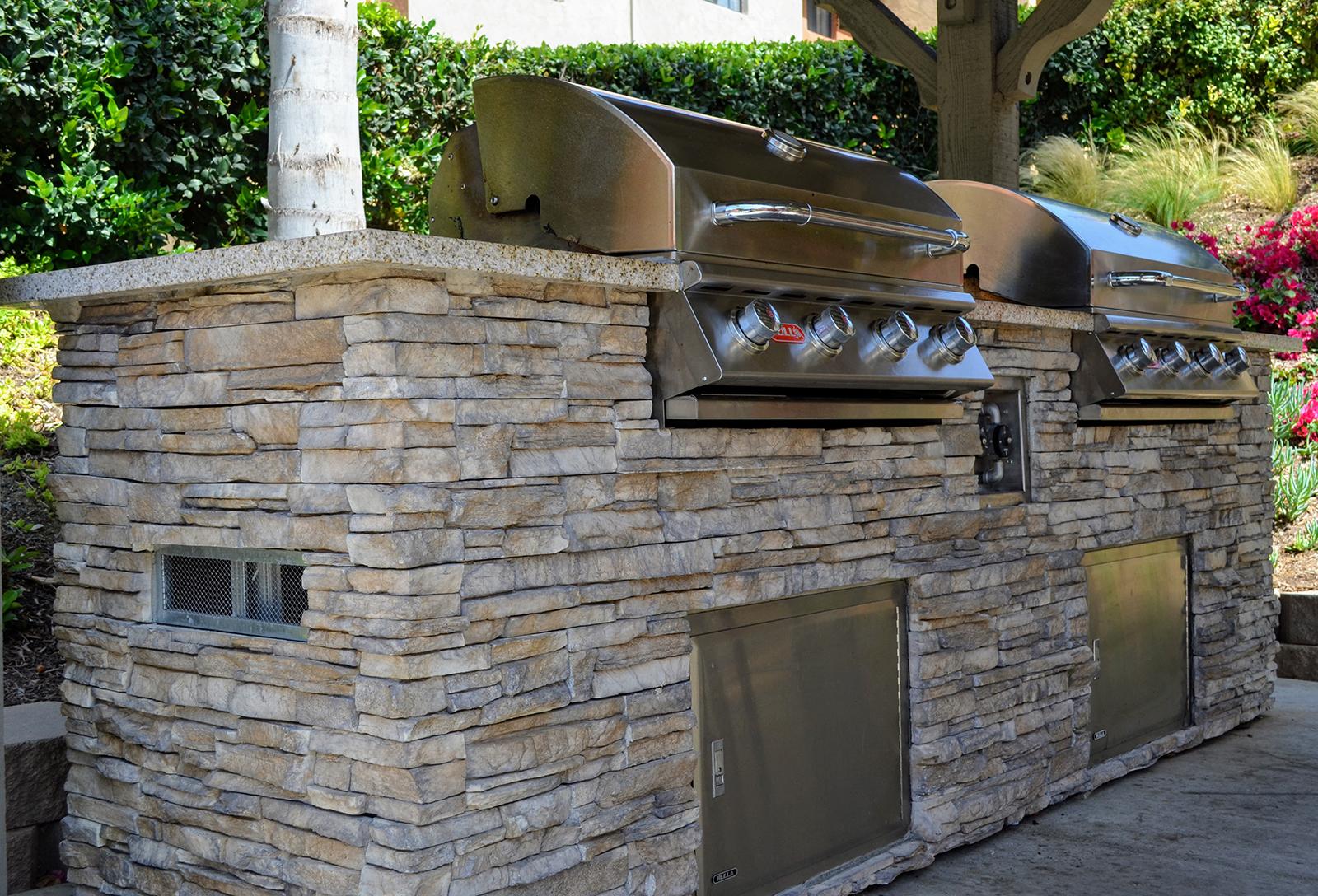 Outdoor Grills at Canyon Villa Apartments, Chula Vista, California