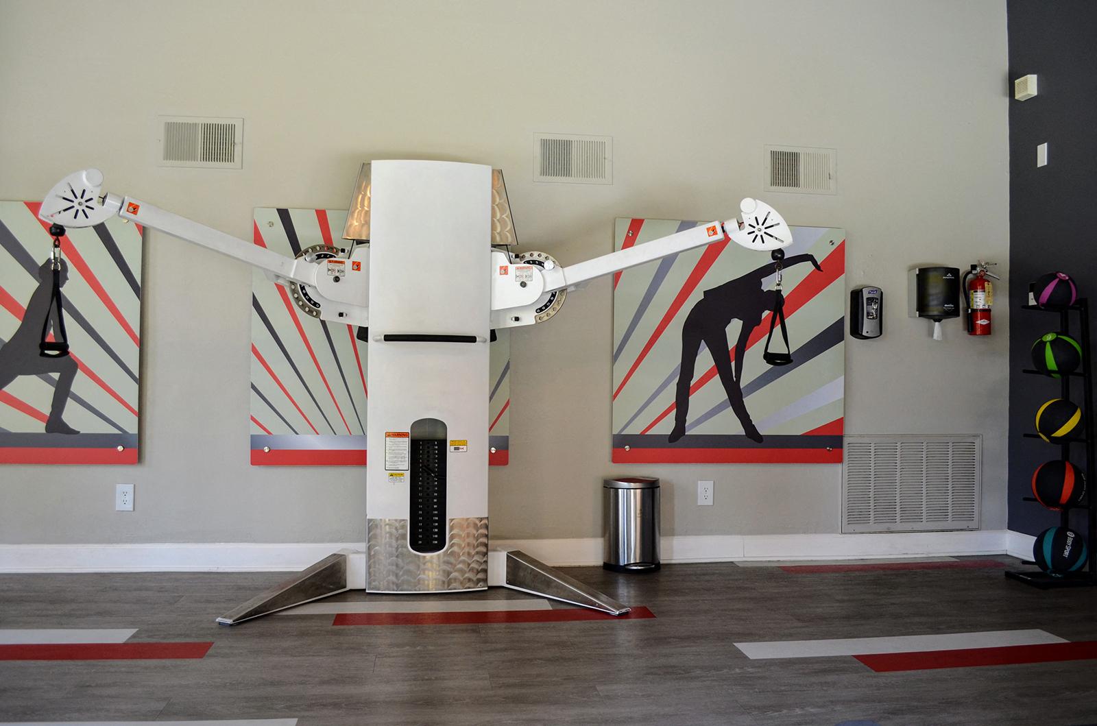 Fitness Equipment at Canyon Villa Apartments, 91910, CA