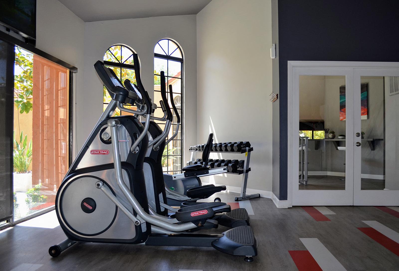 Cardio Equipment at Canyon Villa Apartments, 601 Telegraph Canyon Road, California