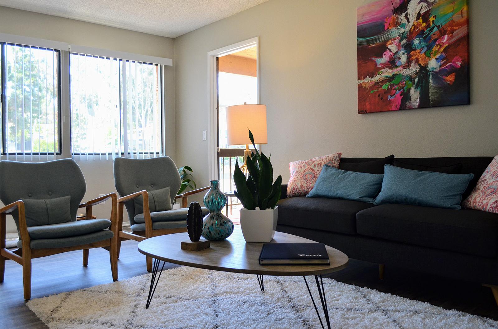 Natural Lighting in Apartments at Canyon Villa Apartments, Chula Vista, 91910