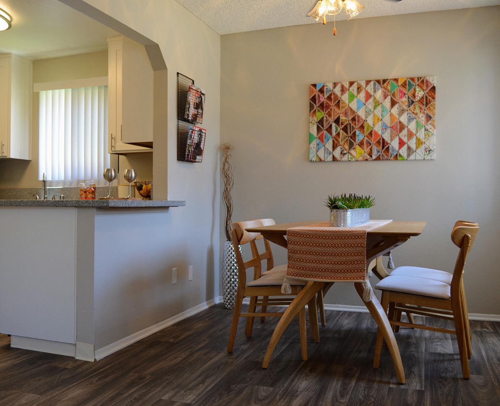 Dining Room at Canyon Villa Apartments, Chula Vista, CA