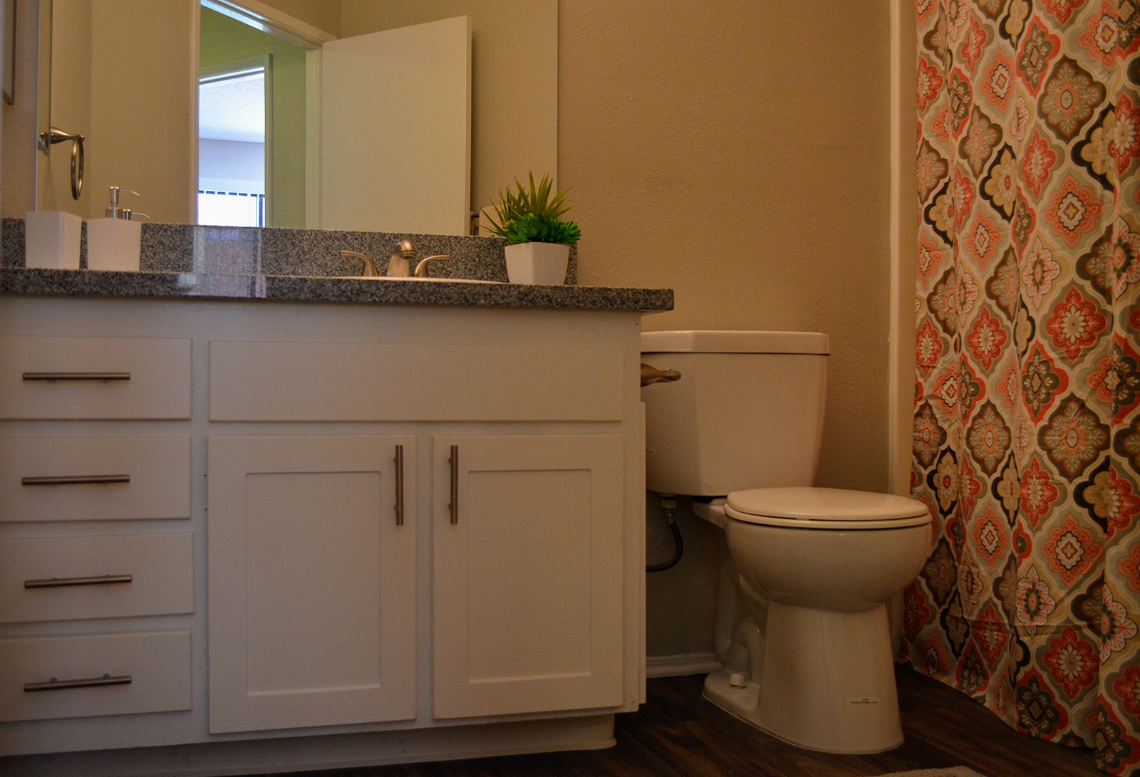 Bathroom at Canyon Villa Apartments, Chula Vista, CA