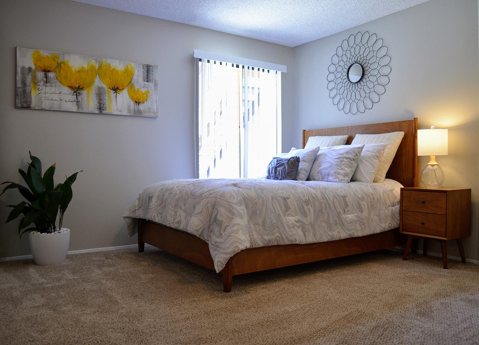 Master Bedroom at Canyon Villa Apartments, 91910, CA