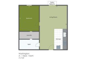 1 Bedroom A