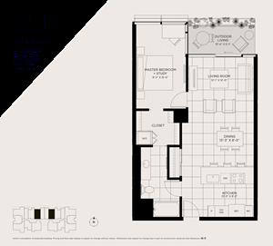 North Scottsdale one bedroom apartment