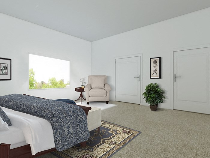 3x2 Walnut Bedroom