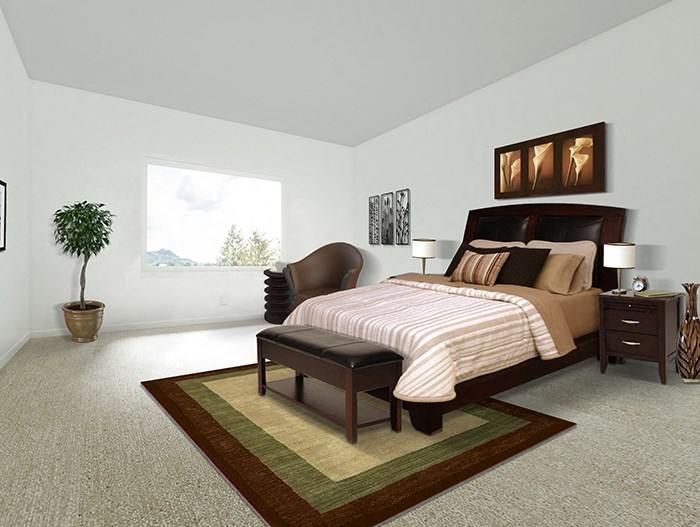 3x2 Walnut Floorplan Bedroom
