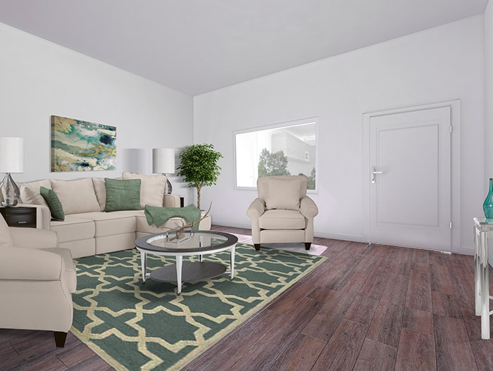 3x2 Walnut Floorplan Livingroom