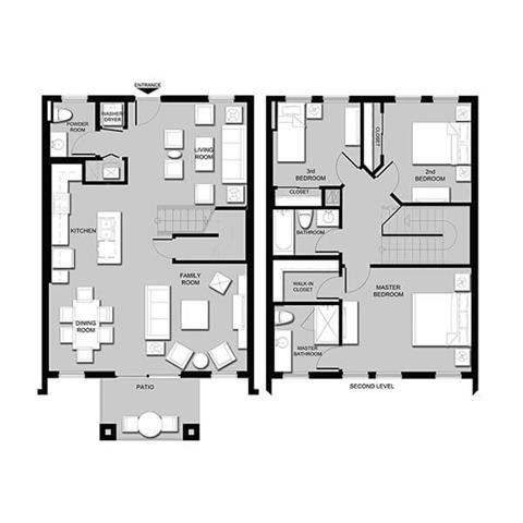 Topaz Townhome Floor Plan 7