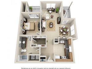 One Bedroom A4