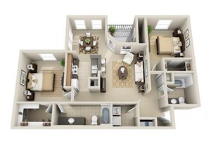 Two Bedroom B1