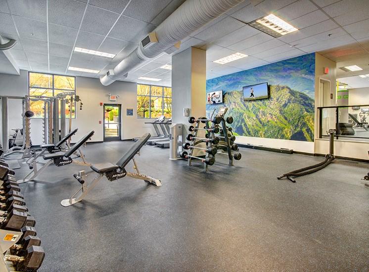 Luxury Solara Apartments in Seattle- Fitness Center