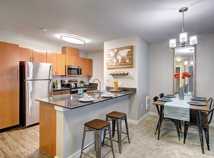 Solara Seattle WA Apartments for Rent - Kitchen