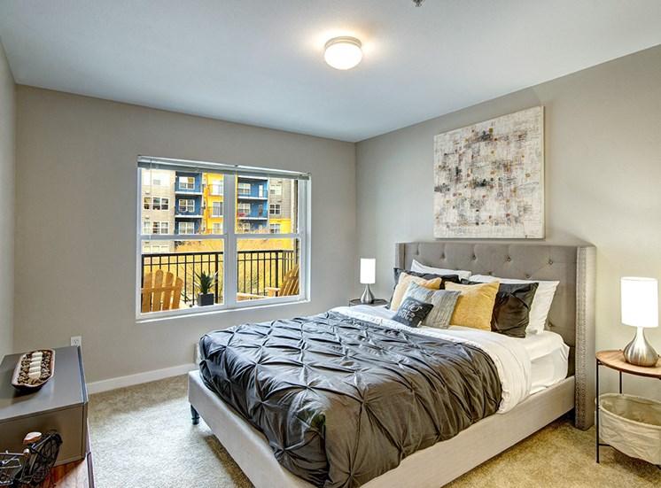 Luxury Solara Seattle Apartments for Rent- Bedroom