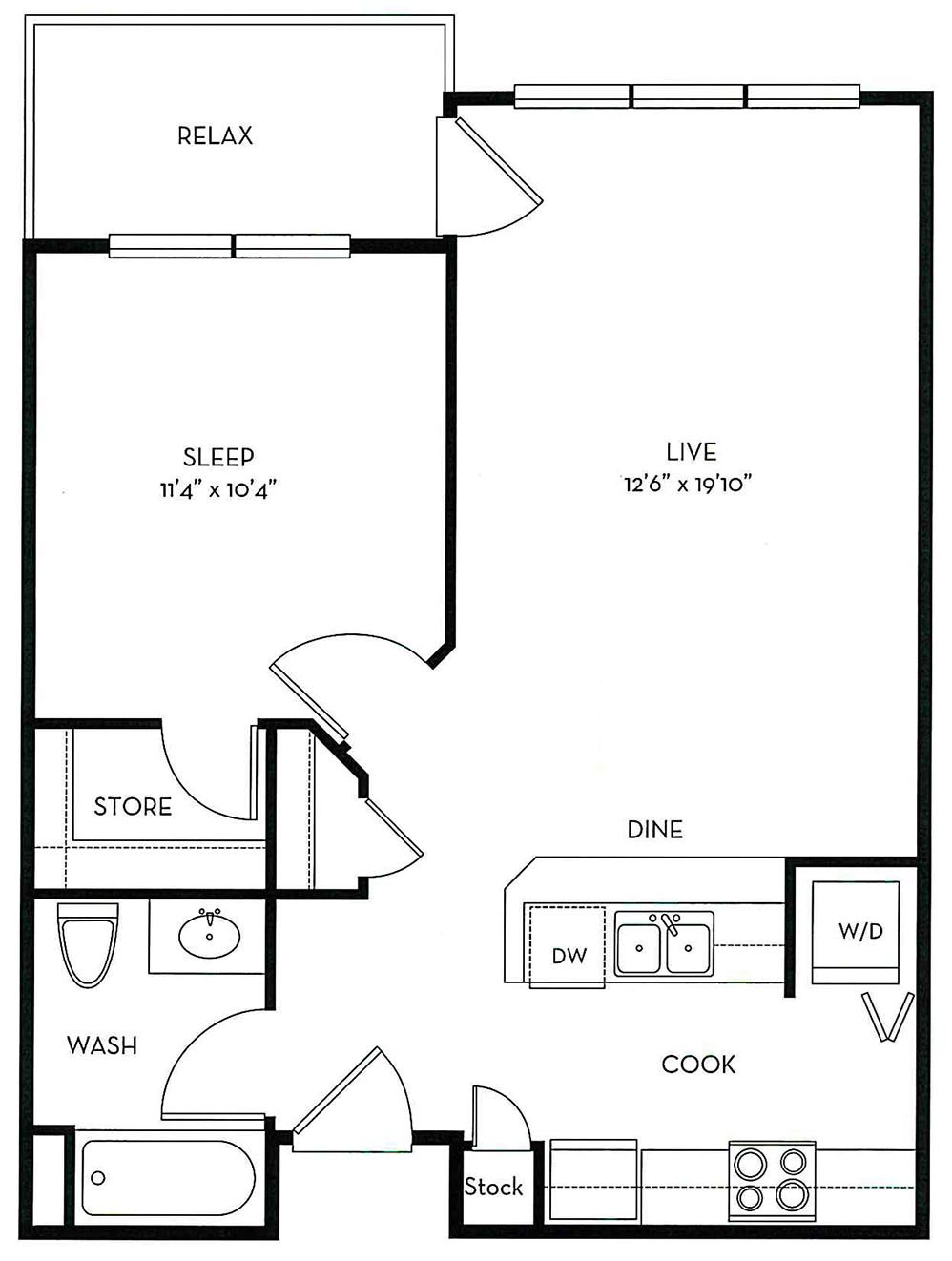 Captiva Floor Plan 5