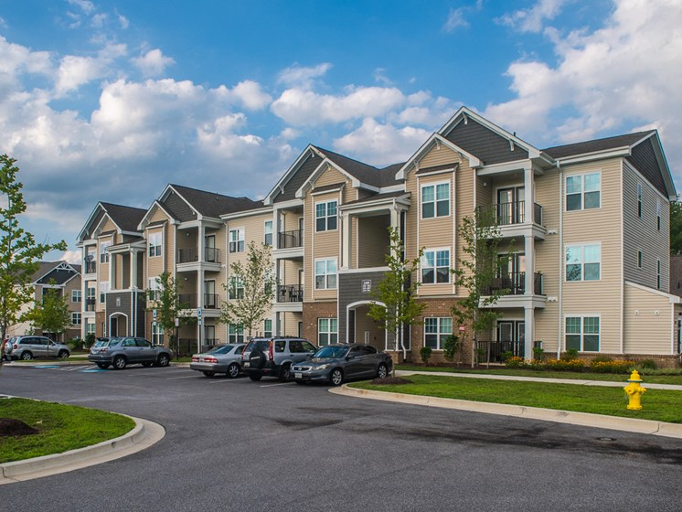 Ample Parking Space at Abberly Square Apartment Homes by HHHunt, Waldorf, MD, 20601