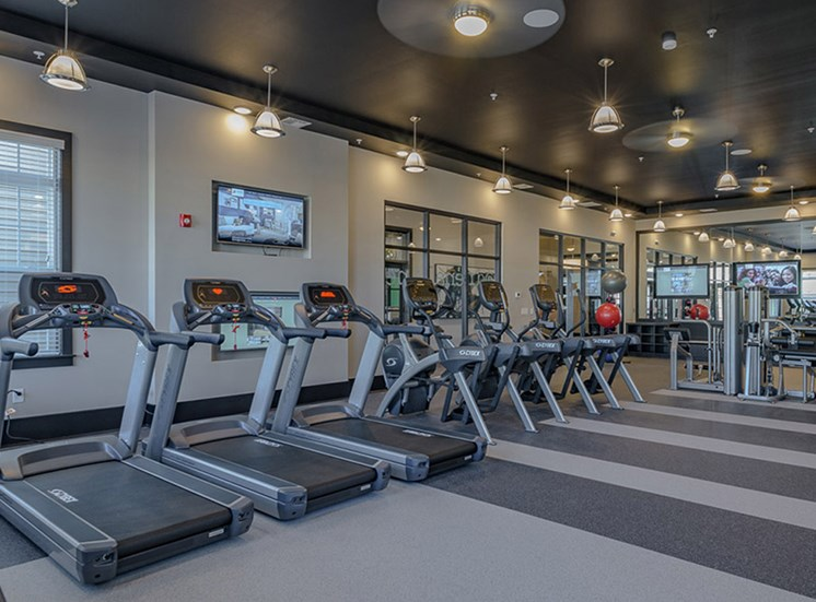 Cardio Equipment at Abberly Square, Maryland