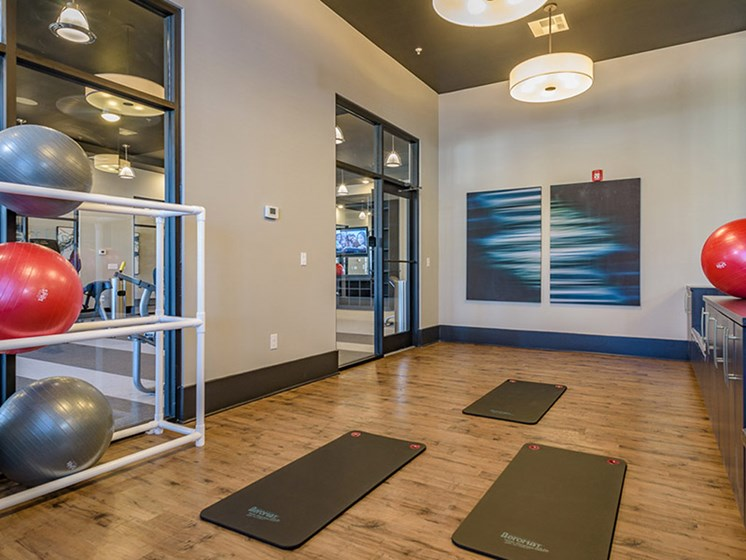 Yoga Studio at Abberly Square by HHHunt, Waldorf, MD