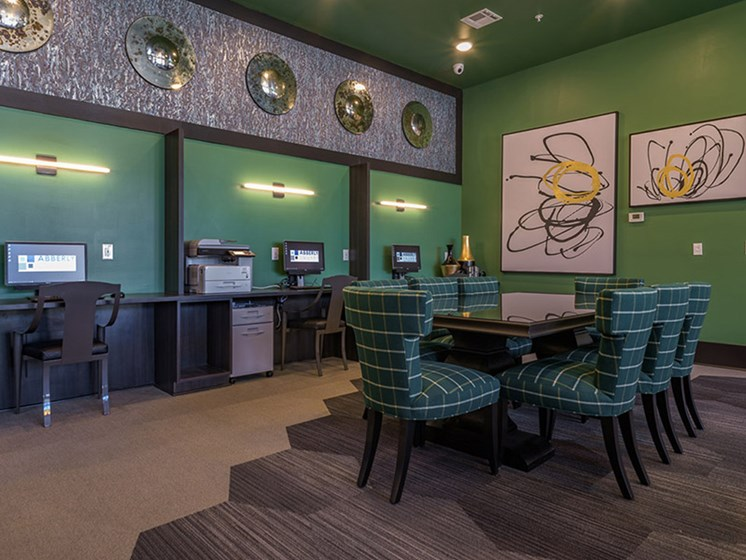 Technology Lounge at Abberly Square by HHHunt, Waldorf, Maryland