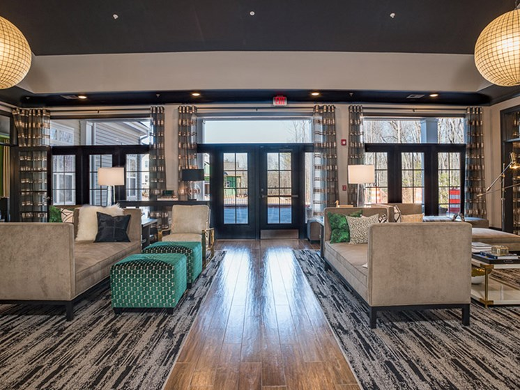 Expansive Clubhouse at Abberly Square, Waldorf, Maryland