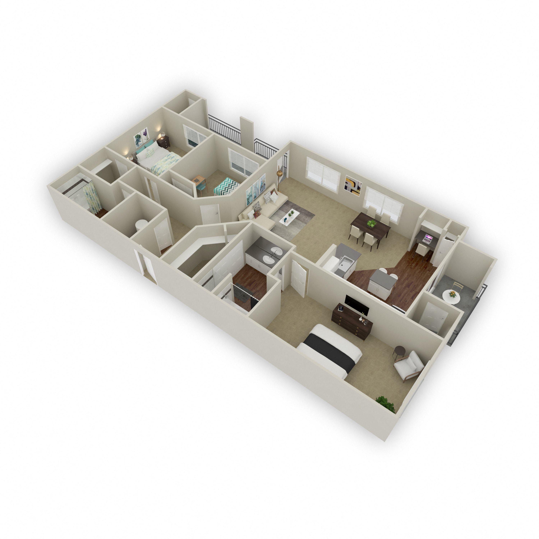 Diamond II Floor Plan 16