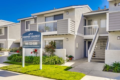 Newport Seacrest Apartments Exterior Building View