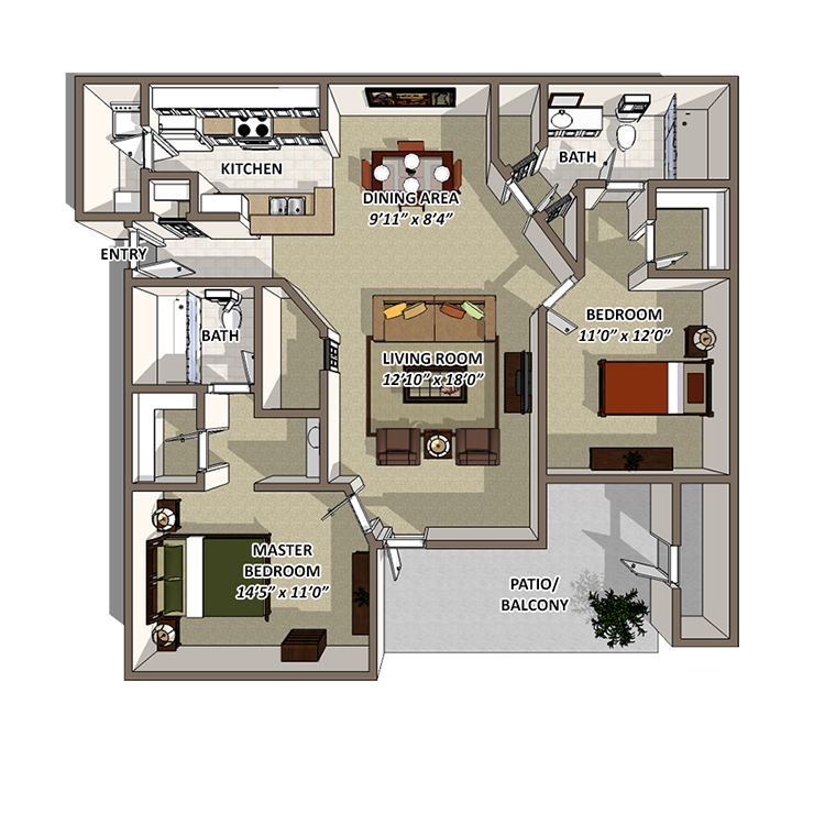 Tranquility Floor Plan 2