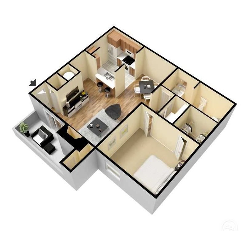 sycamore 3d floor plan