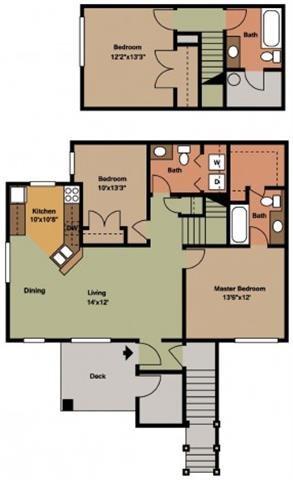 3BR Floor Plan 3