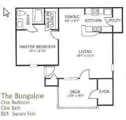 The Bungalow Floor Plan 2