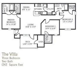 The Villa Floor Plan 5