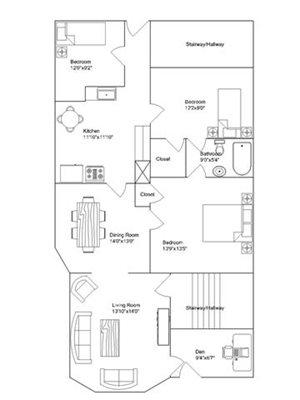 4 Bedroom 1 Bathroom