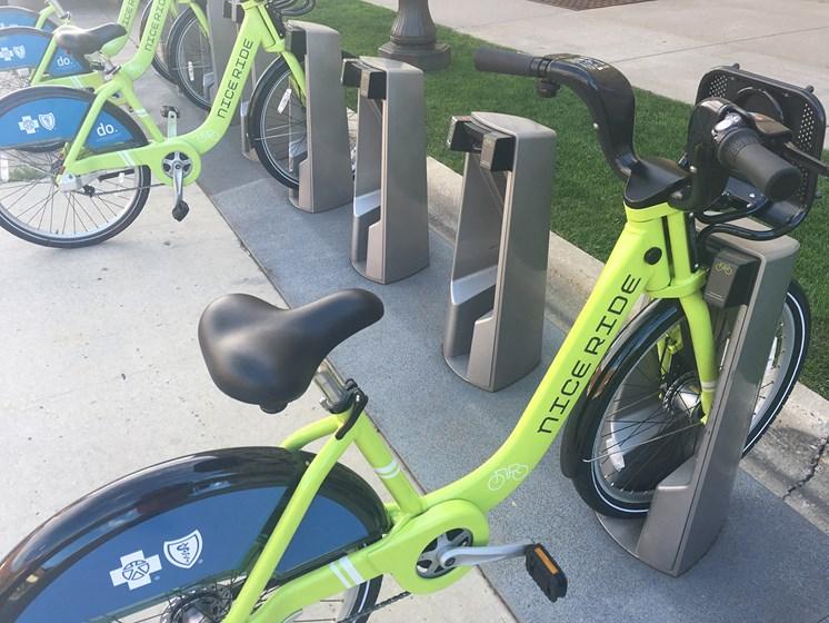 Nice Ride Bike Station