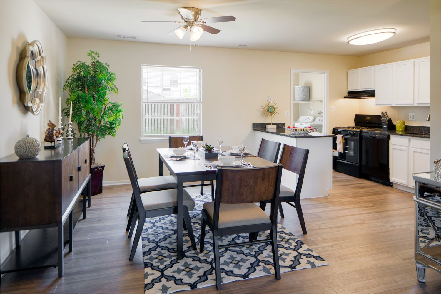 Separate Dining Room At The Townes Holly Station Waldorf Md 20601
