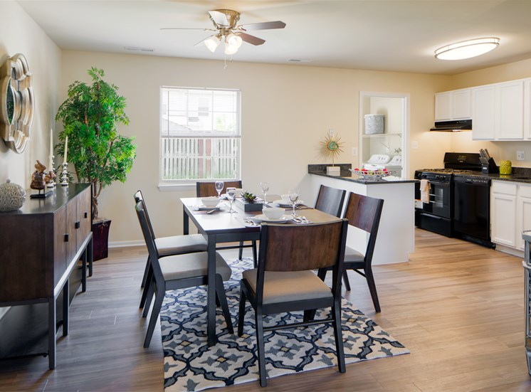 Separate Dining Room at at The Townes At Holly Station, Waldorf, MD 20601