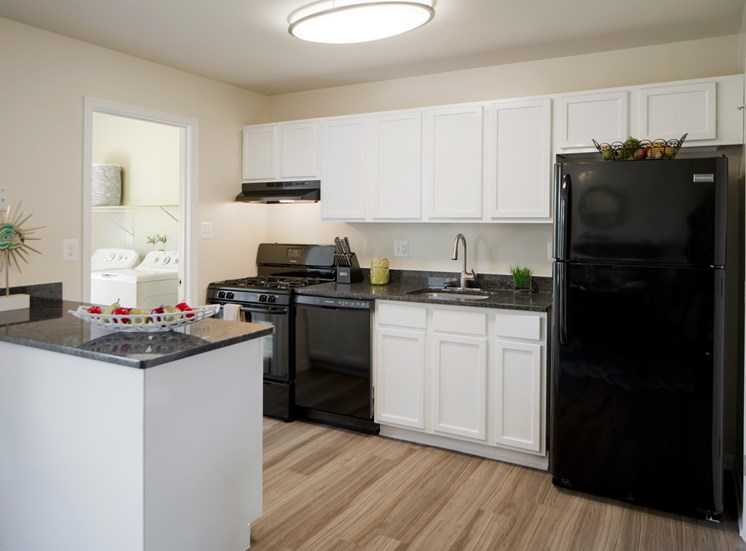 Gourmet Kitchens with Dishwasher and Disposal at The Townes At Holly Station, Waldorf, Maryland