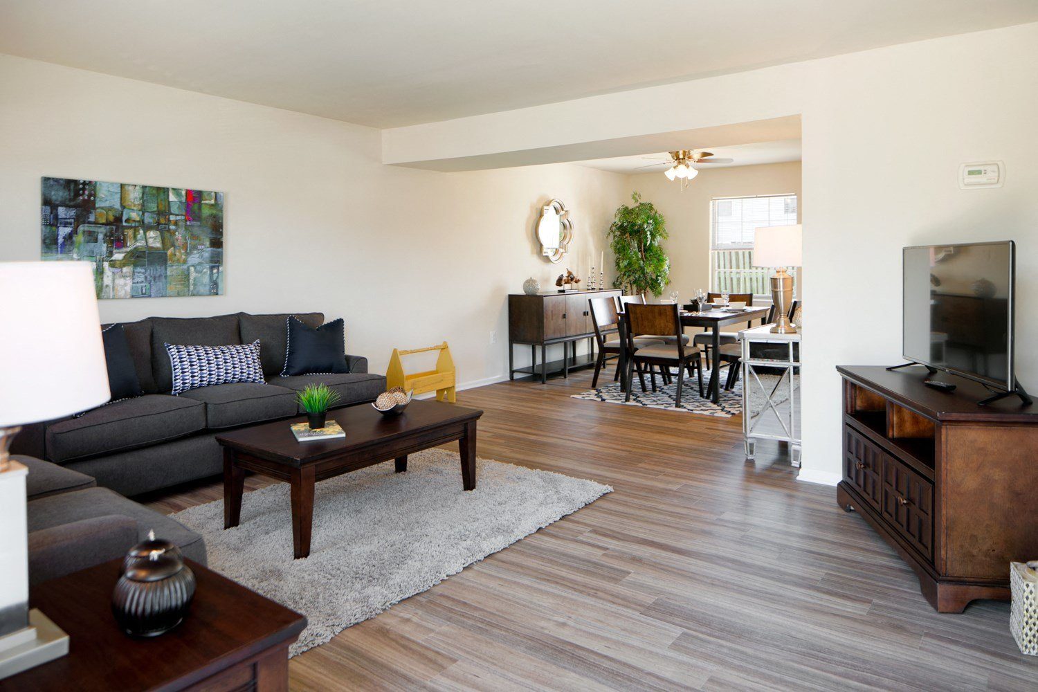 Solid Hardwood Flooring At The Townes Holly Station Waldorf 20601