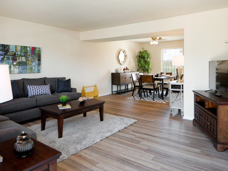 Solid Hardwood Flooring at The Townes At Holly Station, Waldorf, 20601