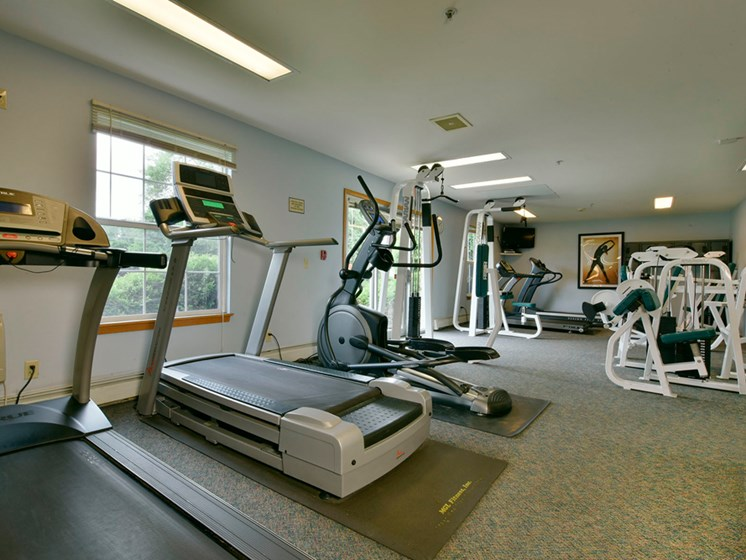 Gym at New Fountains in Fitchburg Wisconsin